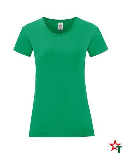 1756 Kelly Green Дамска тениска Icontic T