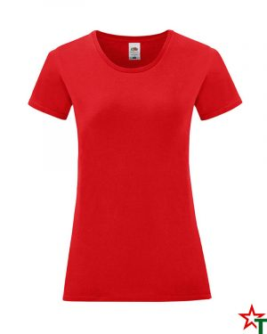 1756 Red Дамска тениска Icontic T