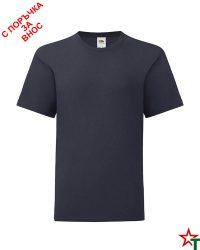 1760 Deep Navy Детска тениска Icontic T