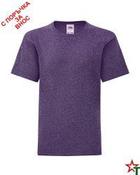 1760 Heather Purple Детска тениска Icontic T
