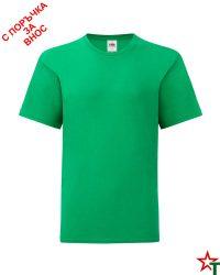 1760 Kelly Green Детска тениска Icontic T