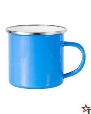 1610 Azure Blue Емайлирано канче - чаша
