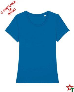 1902 Royal Blue Дамска тениска Stella Express