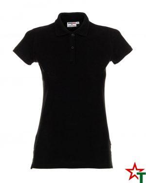 BG200 Black 26 Дамска тениска Lady Polo Cotton