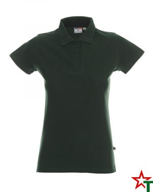 BG200 Bottle Green 28 Дамска тениска Lady Polo Cotton