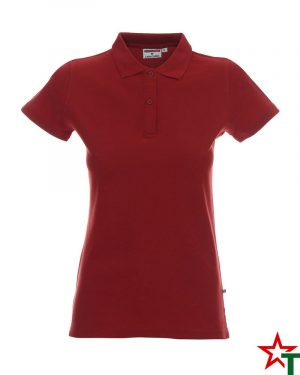 BG200 Brick Red 72 Дамска тениска Lady Polo Cotton
