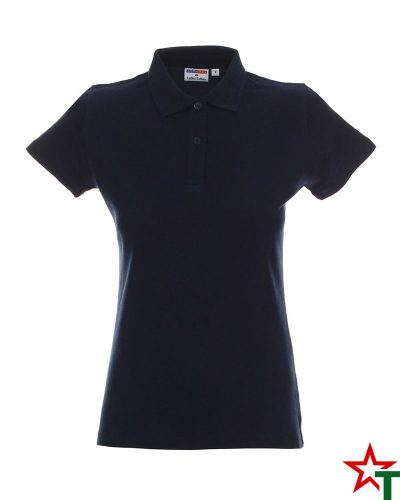 BG200 Deep Navy 22 Дамска тениска Lady Polo Cotton