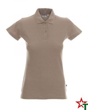 BG200 Khaki 74 Дамска тениска Lady Polo Cotton
