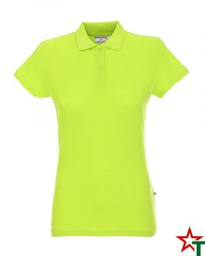 BG200 Light Lime 41 Дамска тениска Lady Polo Cotton