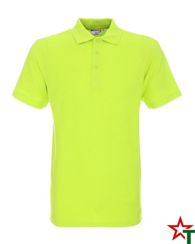 BG200 Light Lime 41 Мъжка тениска Man Polo Cotton