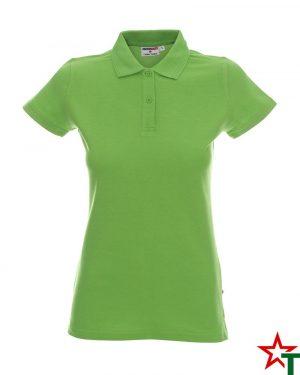 BG200 Lime 27 Дамска тениска Lady Polo Cotton