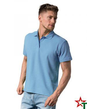 BG200 Navy 42 Мъжка тениска Man Polo Cotton