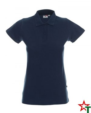 BG200 Navy 42 Дамска тениска Lady Polo Cotton