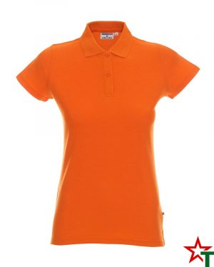BG200 Orange 36 Дамска тениска Lady Polo Cotton