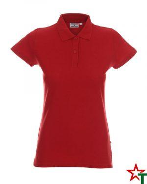 BG200 Red 30 Дамска тениска Lady Polo Cotton