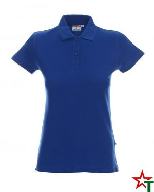 BG200 Royal Blue 32 Дамска тениска Lady Polo Cotton