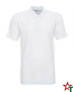 BG200 White 20 Мъжка тениска Man Polo Cotton