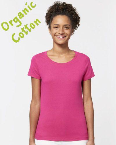 Дамска органична тениска Jazzer